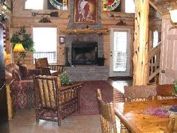 Two Story Log Homes by Log Cabin In Wooded Setting Private Tub Vrbo