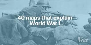 World War One Ottoman Empire 40 Maps That Explain World War I Vox