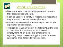 What Is A Visual Resume Visual Resumes