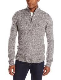 black friday deals amazon clothing john henry men u0027s chunky cable marl quarter zip sweater at amazon