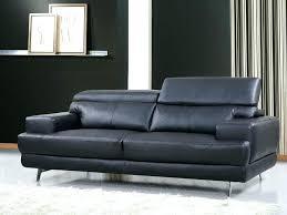 canape cuir design lit noir design canape cuir noir 3 places canapac reconstituac pvc