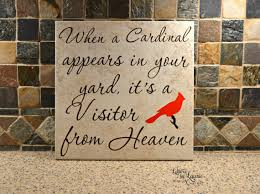 personalized in loving memory gifts in loving memory gift when a cardinal appears in loving