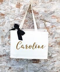 bridesmaid gift bag team i bridesmaid bag custom tote bag canvas tote bag