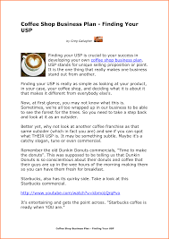 Free Coffee Shop Business Plan Template 8 coffee shop business project