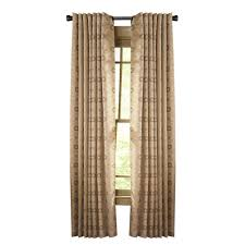 Moroccan Print Curtain Panels by Beige Curtains U0026 Drapes Window Treatments The Home Depot