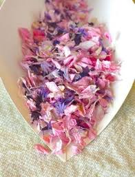 Real Flower Petal Confetti - floating petals confetti all natural eco friendly real flower