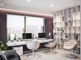 Luxury Modern Home Office Custom Modern Home Office Design Home - Designer home office