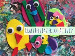 felt easter eggs mini monets and mommies kids craft felt easter eggs