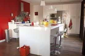 ilot cuisine blanc épinglé par cookingmymy sur idées déco