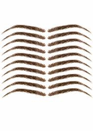 What To Use For Eyebrows Eyebrow Wigs False Eyebrows Headcovers
