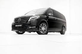 mild by brabus standards tuning for the mercedes benz v class
