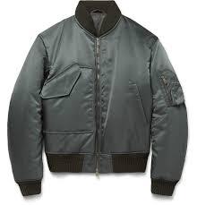 jil sander padded shell bomber jacket