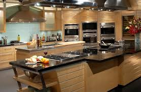rustic kitchen design brick stone wall black painted cabinet best