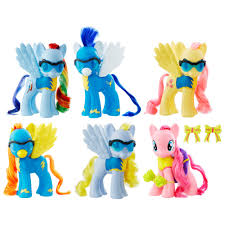 my little pony 6 inch wonderbolts collection toys u0026 games