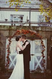 wedding arches michigan fall michigan wedding ruffled