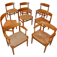 Shaker Dining Room Furniture 8 Borge Mogensen Shaker Dining Chairs At 1stdibs