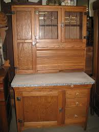 Kitchen Hoosier Cabinet Sellers Kitchen Bakers Cabinet Circa 1917 1920 W Leaded Glass