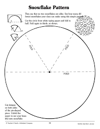 snowflake template for kids printable snowflake template coloring