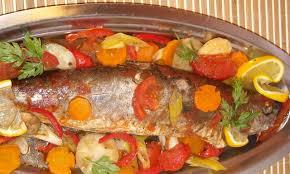 recette de cuisine au four poisson au four recettes de poissons cuisine marocaine