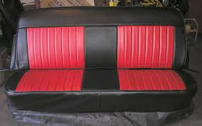 Custom Car Bench Seats Chevy Truck Seat Covers Rick U0027s Custom Upholstery Columbia Tn