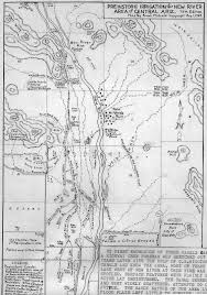 Map Phoenix Arizona by History Adventuring Rediscovering Omar Turney Phoenix Arizona