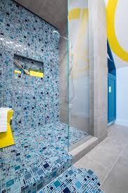 photos hgtv pale blue contemporary bathroom with glass tile