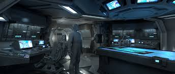 artstation alien covenant ship interiors steve burg sci fi