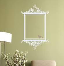 Bird Wall Decals For Nursery by Scroll Frame Decal Antique Scroll Frame Art Pinterest Wall