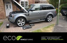 range rover sport modified lr range rover sport 3 0 sdv6 ecu remap eco vehicle tuning