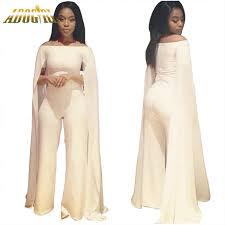 white formal jumpsuit plus size white jumpsuit for bodycon