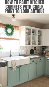 how to paint kitchen cabinets antique look how to paint kitchen cabinets with chalk paint to look antique