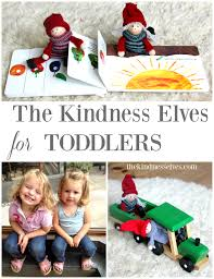 15 ideas for using the kindness elves with toddlers that are