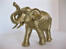 gold elephant figurine i love all things elephant pinterest