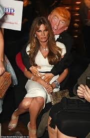 Oops Halloween Costume Jemima Khan Groped Donald Trump Mannequin Unicef