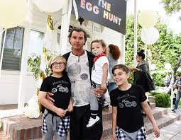 gavin rossdale ready to move on after gwen stefani gavin rossdale has been spotted taking part in an easter egg hunt