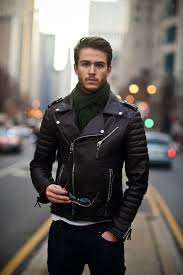 men s bike jackets chitown galla biker leather moto jacket and leather jackets