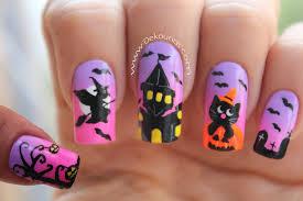 imagenes de uñas decoradas de jalowin decoración de uñas halloween halloween nail art youtube