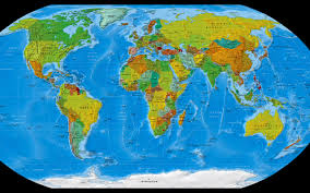 world map wallpaper and background 1280x800 id 299924