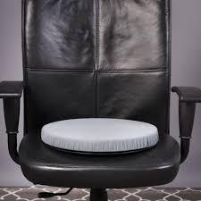 Swivel Chair Cushion by Dmi Deluxe Swivel Seat Cushion Grey Walmart Com