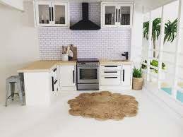 Kitchen Dollhouse Furniture by 85 Best Doll House Renovation Diy Images On Pinterest Modern