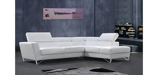 Sofa Casa Leather Divani Casa Waltz Sectional Sofa In White Leather