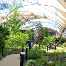 going2see crossrail place at canary wharf and its roof garden