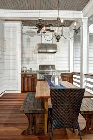 photos hgtv beach house front porch with built in grill and
