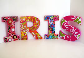Decorative Letters For Home Wall Letter Decoration Ideas Shonila Com