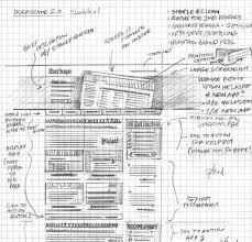 40 examples of web design sketches and wireframes smashingapps com