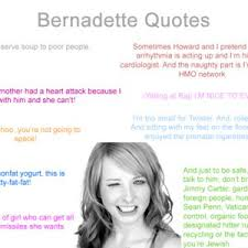 Bernadette Meme - bernadette quotes not made by me by troller1 meme center