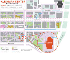University Of Pennsylvania Campus Map by Getting Here Kleinman Center For Energy Policy