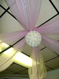 Chiffon Ceiling Draping Wedding And Event Décor Workshop