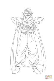 piccolo powerful arms crossed coloring free