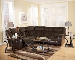 Eli Cocoa Reclining Sofa Reclining Sectional Popular Furniture Direct Buy